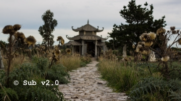 Abandoned Vietnamese Garden