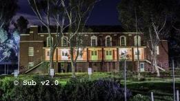 The hall, Jackson's Hill Mental Asylum