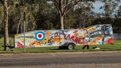Rashe - Glider trailer