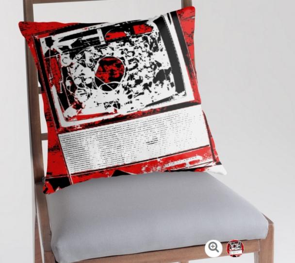 TV Addict cushion